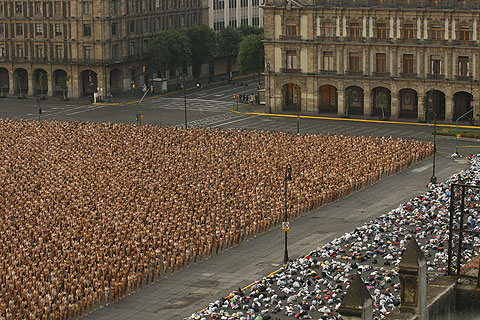 Spencer Tunick Mexico City